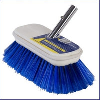 Swobbit SW77340 7.5 in Extra Soft Premium Deck Brush - Blue