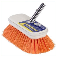 Swobbit SW77350 7.5 in Medium Premium Deck Brush - Orange