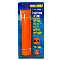 Orion Orange Distress Flag 925