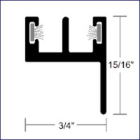 Taco Marine Window Track Lower  A52-0084VEL12