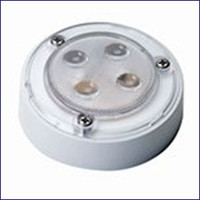 Innovative Lighting 034-5150-7 4-LED 3 inch Round Interior Light White