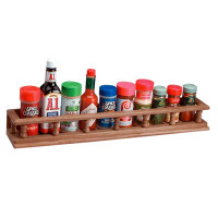 Whitecap Solid Teak Large Spice Rack