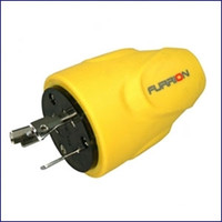 Furrion F20MLP-SY 20 Amp Plug Male - Yellow