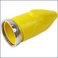 Furrion F50CVL-SY 50 Amp Cover Female With Metal Ring - Yellow