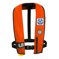 Mustang MD3087 Deluxe Inflatable Vest PFD Automatic Activation - Orange (only 1 left in stock)