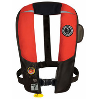 Mustang MD3184 02 Deluxe Inflatable Vest Automatic PFD with HIT & Harness (hydrostatic activation)  MD3184 02 123  MD3184 02 13