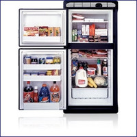 Norcold 7 Cu. Ft. AC/DC Refrigerator Right DE0061R