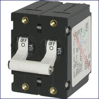 Double Pole Circuit Breaker A-Series Toggle 7237 7238 7241 7242