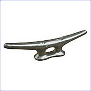 "Sea Dog 5"" Galvanized Open Base Cleat Flat Head  040105-1"