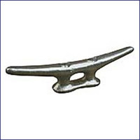 Sea Dog Galvanized Open Base Cleat Flat Head - 6 in.