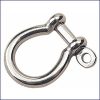 Sea Dog 147054-1 Stainless Cast Bow Shackle 3/16 in.