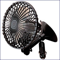 Sea Dog 450120-1 12V Suction Cup Mount Fan