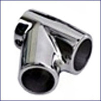 Sea Dog Stainless 60° Universal T Rail Fitting 1 in.