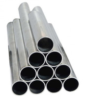 "ASTI 18 ga (.049) 7/8"" Stainless Tube Super Buff"