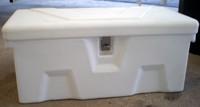 RomoTech 82121799  32x15x14 Small Dock Box White (Toolbox)