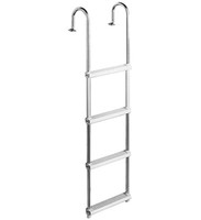 Garelick 15240 4-Step Pontoon Swim Ladder