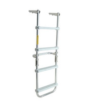 Garelick 12150 Pontoon Folding Deck Ladder