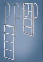 "International Dock Products 6SDLL4 6 Step Dock  Lifting  Ladder 4"" Step"