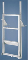 "International Dock Products 3SLFPL4 3 Step Lifting Finger Pier Ladder 4"" Step"