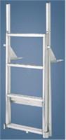"International Dock Products 5SLFPL4 5 Step Lifting Finger Pier Ladder 4"" Step"