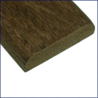 "Whitecap 1-3/16"" Wide Teak Batten"