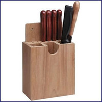 Whitecap Solid Teak Cutlery Rack