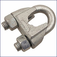 Galvanized Wire Rope Clip 7/16 in.