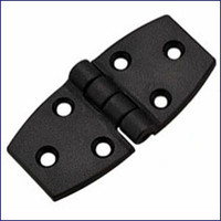 Door Hinge - Black Nylon  WO-10045