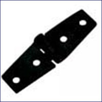 Strap Hinge - Black Nylon