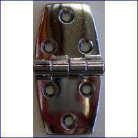 Hinge 1 1/2 in. Chrome Plated Zinc  WO-10052