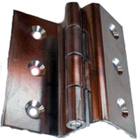 Double Offset Hinge 3 in. Stainless  WO-10054