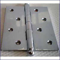 Removable Pin Butt Hinge 3 1/2 in. Stainless
