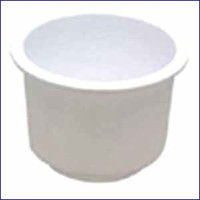 Insulated Drink Holder Insert White