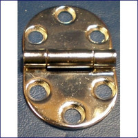 Round Side Hinge 1 3/16 in.