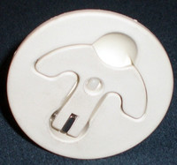 2 1/2 in. Round T-handle Latch