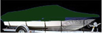 Taylor Made  70720 V-Hull Runabout I/O Cover 19 ft. 5 in. -20 ft. 4in. x 102 in.w Hunter Green