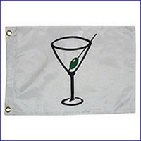 "Taylor Made 12"" x 18"" Novelty Cocktail Flag  9118"