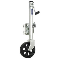 "Cequent XP150101 1500 lb. Swing-Away Jack 8"" Wheel"