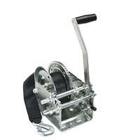 Cequent T2605Z0101 2600 lb. 2 Speed Winch w/Strap