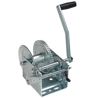 Cequent T3205B0101 3200 lb. 2 Speed Winch w/Brake