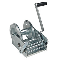 Cequent T37000101 3700 lb. 2 Speed Winch w/Brake