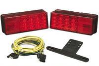 "3"" x 8"" LED Low Profile Trailer Light Kit"