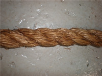"Unicord 3 Strand Twisted Manila/Hemp 1/4""x600'"