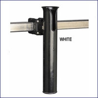 Sea Dog 327166-1 Square Rail Mount Rod Holder White
