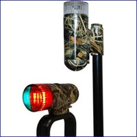 Attwood 14183-7 Portable LED navigation Light Kit Camo