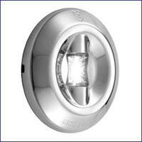 Attwood LED 3-Mile Round Transom Light 6556-7