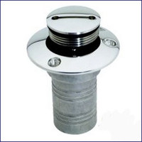 Attwood 66126-5 SS Waste Deck Fitting
