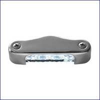 Attwood 6344SS1 3 inch LED Transom Light Oval Vert.