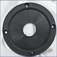 Plasform 1279 4.375 in Black Rope Cable Grommet