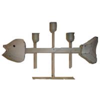 Fish Bone Candle Holder